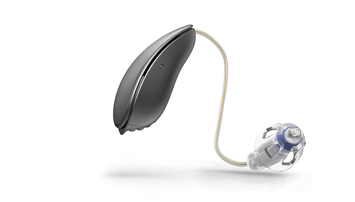 Hörgerät in grau
